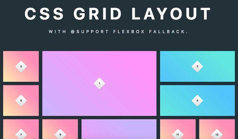 Основные понятия Grid Layout